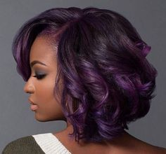 Purple And Fab! With @macleantemu - Black Hair Information