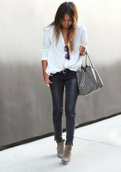 [Her] Sunday's Best : Still Loving Leather Pants.