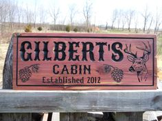 Hey, I found this really awesome Etsy listing at https://www.etsy.com/listing/166937415/cabin-hunting-camp-last-name