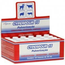 CYPERPOUR 15 PULVERIZAÇÃO (CIPERMETRINA) - 20ml