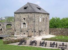 Ruins of Cheb castle.