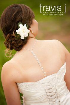 Wedding Hair, Up-do, Flower in hair, Travis J Photography, Colorado