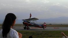 Wing Walker Rocky Mountain Airshow