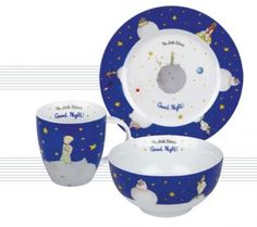 Breakfast Set (blue) - The Little Prince - The Little Prince : official store