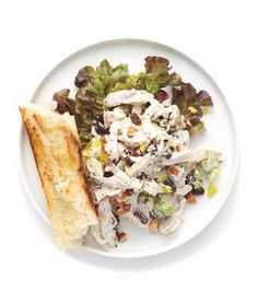Chicken Salad With Celery and Shallot from realsimple.com #myplate #protein #vegetables
