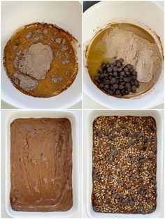 How to make turtle dump cake with caramel and chocolate with step by step photo instructions for each step in the recipe. Dump Cake Recipes, Dessert Cake Recipes, Homemade Cake Recipes, Candy Recipes, Fun Desserts, Dump Cakes, Delicious Desserts, Dessert Ideas, Bar Recipes