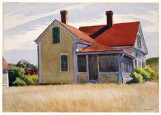 Edward Hopper - Marshall's House (1932)                                                                                                                                                                                 More