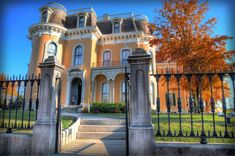 """I was invited to take photos for the Culbertson Mansion Haunted House. I took the time to do a few High Dynamic Range (HDR) images of the Mansion along with some of the inside spookiness of the Haunted House attraction. [caption id=""""attachment_387"""" align=""""aligncenter"""" width=""""800""""…"""