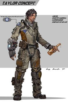 Artstation - miner concept, rock d Character Concept, Character Art, Concept Art, Character Design, Character Portraits, Space Miner, Gundam, Transformers, Edge Of The Empire