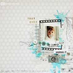 ILS - scrapbooking: latest collections : inspirations from ILS Flickr. gallery