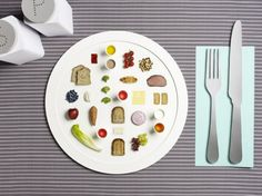 La dieta per gli atleti delle Olimpiadi di Londra 2012 in un piatto unico di design | Food & Design