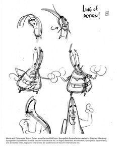 SpongeBob #Tutorial 4 Action by shermcohen.deviantart.com on #DeviantArt
