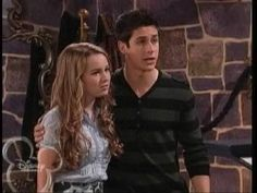 Justin and Juliet from Wizards of Waverly Place!