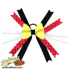 Handmade Softball Hair Bow made from real softball leather Softball Hair Bows, Softball Hairstyles, Different Font Styles, Long Layered Hair, Making Hair Bows, White Ribbon, Ribbon Colors, How To Make Bows, Grosgrain