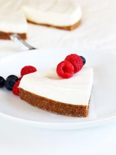 Lighter No Bake Gluten Free Cheesecake