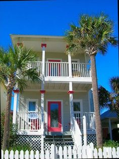 """Gulfside Cottages cottage rental - """"Bird of Paradise"""" a Florida Cottage in the Grand Tradition - no quote but one of my favorites"""