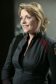 Amanda Tapping as Colonel Samantha Carter     Stargate Atlantis and stargate SG-1