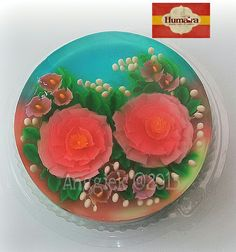 Puding jelly art #notools