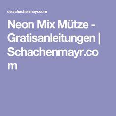 Neon Mix Mütze - Gratisanleitungen | Schachenmayr.com