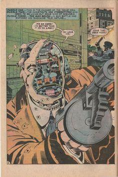 sadburro:    PUZZLE THREE…THE MAN BELOW… A gun battle has exposed his shocking true nature…  Jack Kirby
