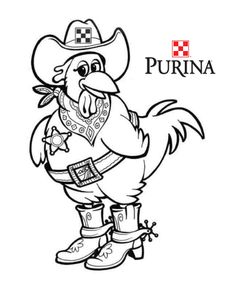 Hen Coloring page Coloring Pages Pinterest Hens Adult