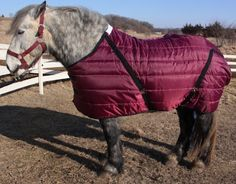 "Draft Horse Stable Blanket - 94"" by Beilers. $79.99. Draft horse stable blanket.  This blanket is lined with poly fill.  Blanket has heavy nylon shell with a nylon lining.  Blanket has crossed surcingle belly straps, 2 buckle chest straps and elastic leg straps."