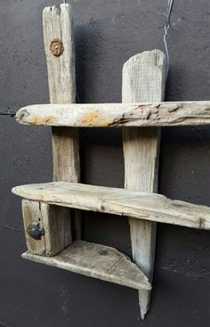 Driftwood is a part of sophistication nowadays, people enjoy shelving through this flexible wood. There are lots of ways you can generate and apply these shelves. Below are offered a few of the…More Driftwood Shelf, Driftwood Furniture, Driftwood Projects, Diy Furniture, Driftwood Ideas, Woodworking Furniture, Teds Woodworking, Furniture Projects, Woodworking Projects