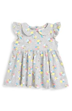 Free shipping and returns on Rosie Pope Cap Sleeve Tee (Baby Girls) at Nordstrom.com. Vibrant graphics and a Peter Pan collar provide delightful updates for a heathered cap-sleeve tee.