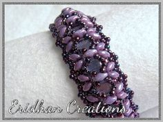 "Beaded bracelet - ""Dragonfly"" - tutorial"