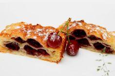 Slika pite sa višnjama i grizom