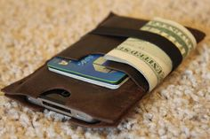 Handcrafted in USA Leather iPhone 6 plus von 3TwentyLeatherworks