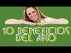 10 beneficios del apio - YouTube