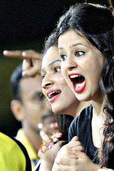 The hot killing unseen pics of sakshi singh dhoni in which she is seducing the audience of cricket match with the sexy juicy figure. She is ...