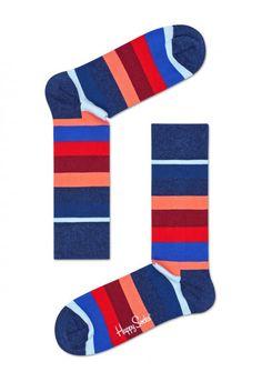reputable site c859b bb85d Happy Socks   Different.cz - 249 Kč Happy Socks, Striped Socks, Coral