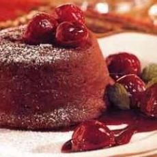 Winter-Spiced Molten Chocolate Cakes with Rum-Ginger Ice Cream | CAKES ...