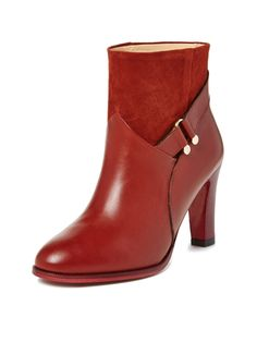 Claude Leather Bootie