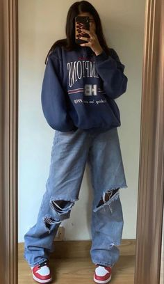 Swaggy Outfits, Baddie Outfits Casual, Indie Outfits, Teen Fashion Outfits, Retro Outfits, Grunge Outfits, Cute Casual Outfits, Stylish Outfits, Vintage Outfits