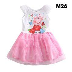 c14e2df353 Vestidos Peppa Pig Hermosos Entrega O Envio Inmediato en Mercado Libre  México