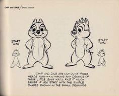 """How to Draw Chip and Dale"""