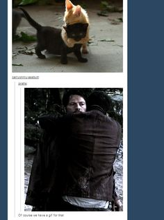 Supernatural really DOES have a gif for everything ... and I literally LOLed until I cried.