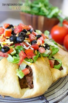 The Pampered Chef Taco Ring