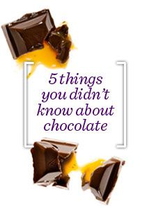 5 Facts you didn't know about Chocolate