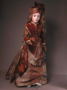 """26"""" Huret Provost French Fashion with Jointed Wood Body from maspinelli on Ruby Lane"""