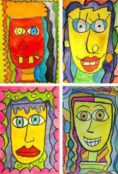 James rizzi art lessons drawing рисунки, искусство 및 живопис Art Lessons For Kids, Art Lessons Elementary, Art For Kids, James Rizzi, Self Portrait Art, 2nd Grade Art, Ecole Art, Art Curriculum, School Art Projects