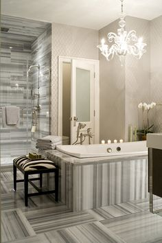 Artistic Tile | Designer Eric Cohler | Artistic Tile Product: Marmara
