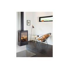 WIKING Miro 1 Væghængt brændeovn med sideglas