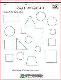 math worksheet : halves of shapes a printable fraction worksheet to shade half of  : Fraction Shapes Worksheet
