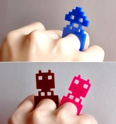 Space Invaders rings