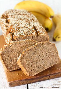 chlebek bananowy, bezglutenowy chlebek bananowy, chlebek bananowy fit, chlebek bananowy bez jajek, zdrowy chlebek bananowy, wegański chlebek bananowy, banana bread, gluten free banana bread, egg free banana bread, healthy banana bread, vegan banana bread
