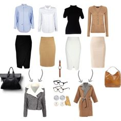A fashion look from June 2014 featuring Zanieri sweaters, Jaeger cardigans and Band of Outsiders tops. Browse and shop related looks. Business Outfits, Office Outfits, Business Fashion, Chic Outfits, Work Outfits, Creative Interview Outfit, Claire Underwood Style, Minimalist Wardrobe Essentials, Fashion Essentials